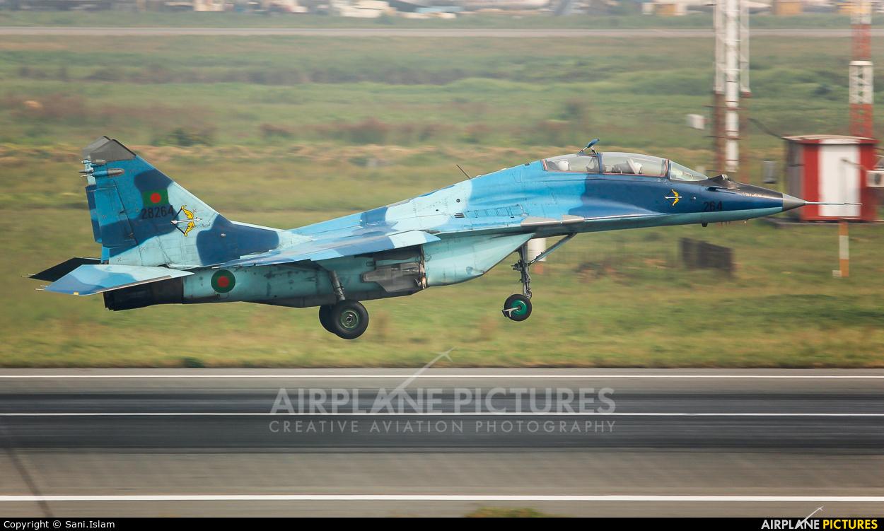 Bangladesh - Air Force 28264 aircraft at Dhaka - Hazrat Shahjala Intl