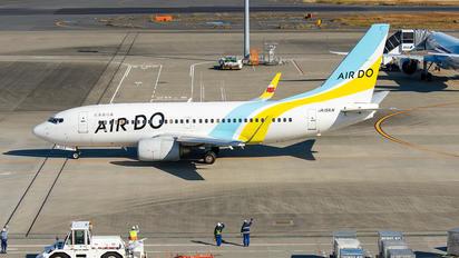 JA15AN - Air Do - Hokkaido International Airlines Boeing 737-700