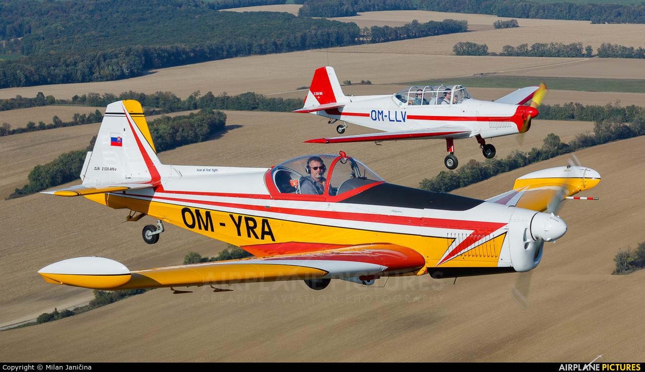 Aeroklub Trnava OM-YRA aircraft at In Flight - Slovakia