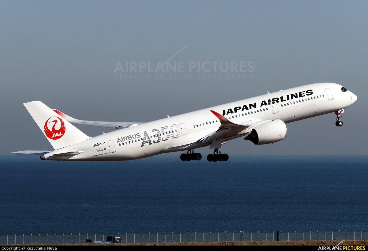 JAL - Japan Airlines JA02XJ aircraft at Tokyo - Haneda Intl