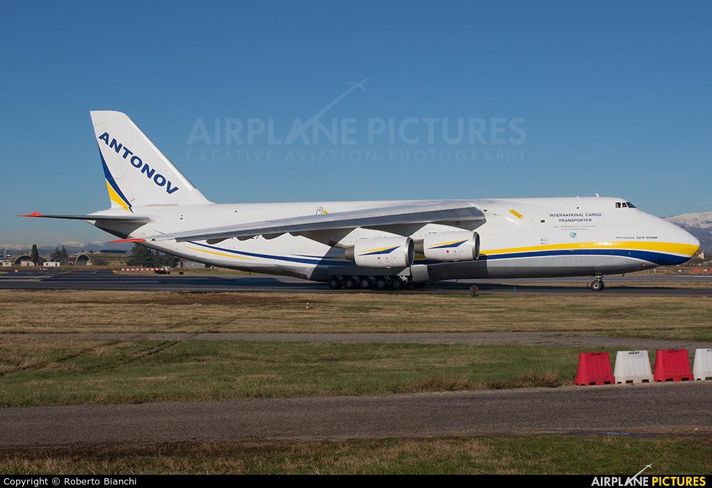 Antonov Airlines /  Design Bureau UR-82027 aircraft at Verona - Villafranca