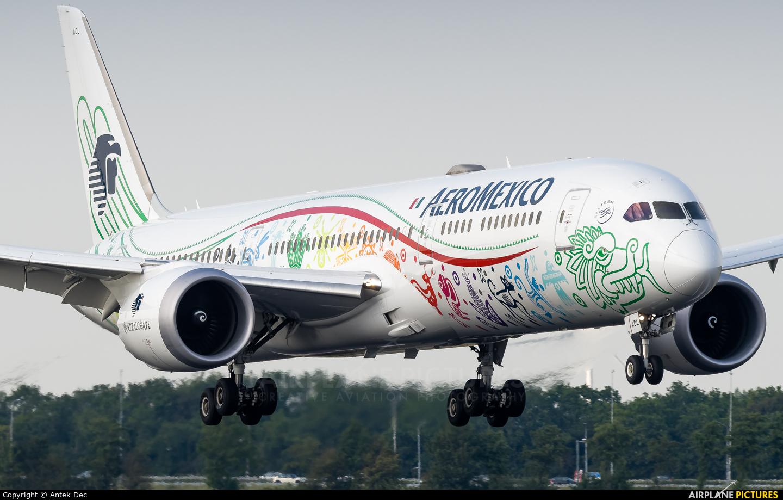 Aeromexico XA-ADL aircraft at Amsterdam - Schiphol