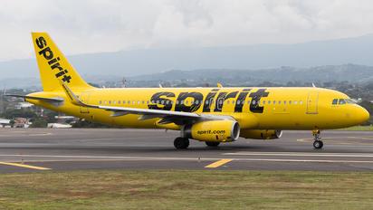 N619NK - Spirit Airlines Airbus A320