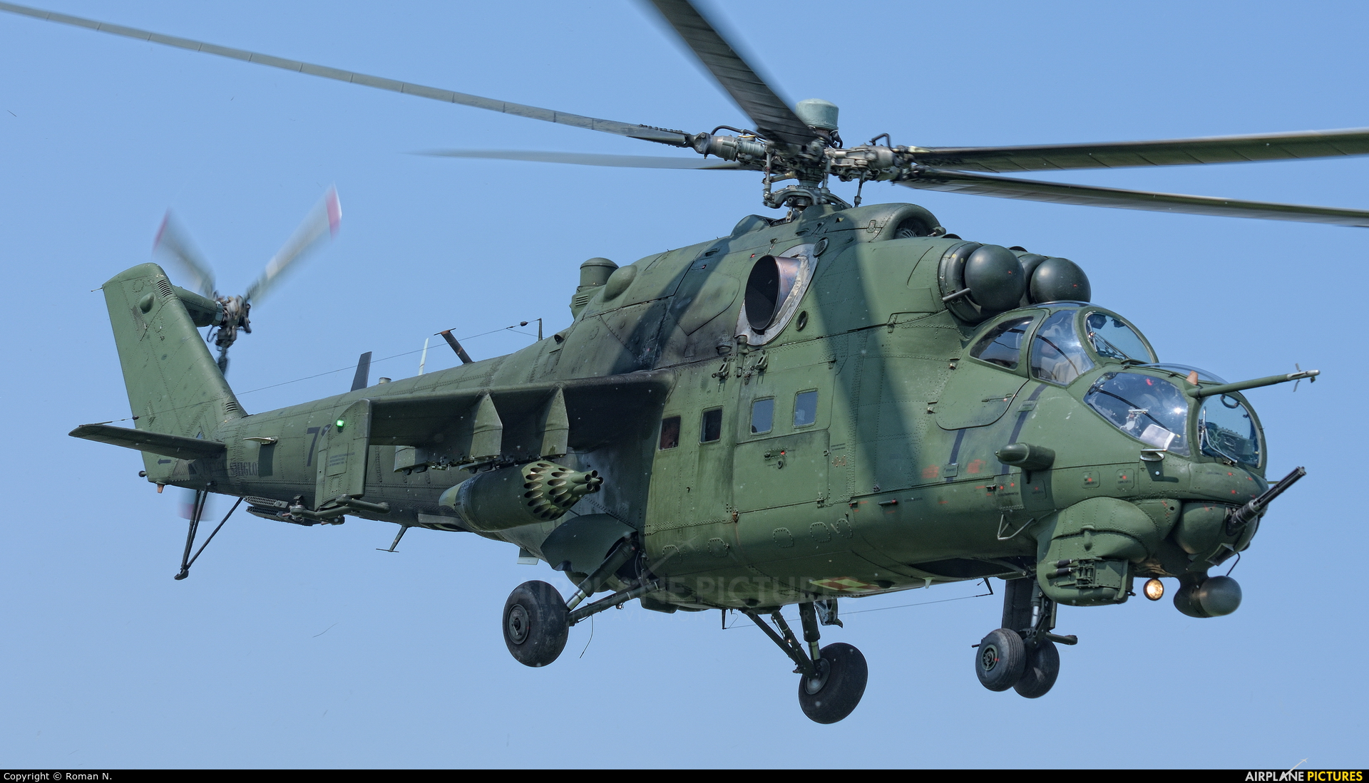 Poland - Army 728 aircraft at Inowrocław