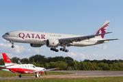 A7-BFE - Qatar Airways Cargo Boeing 777F aircraft