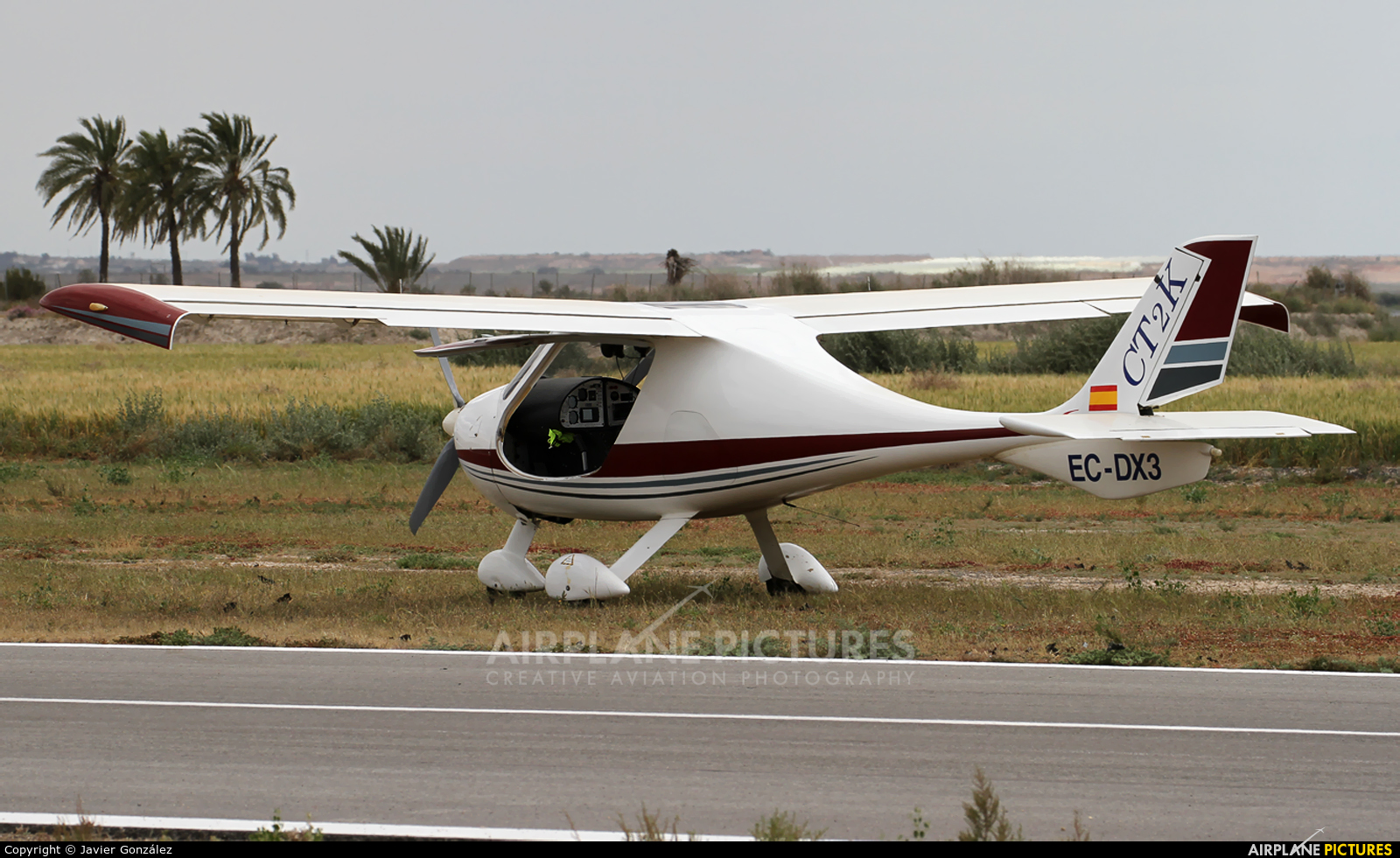 Private EC-DX3 aircraft at Totana