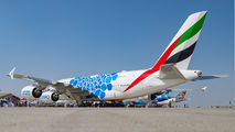 A6-EVH - Emirates Airlines Airbus A380 aircraft