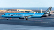 La Compagnie Airbus A321neo visited Tenerife Reina Sofia title=