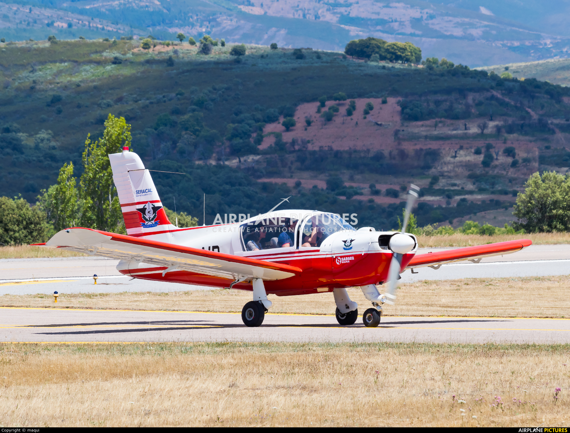 Private CS-AID aircraft at Bragança