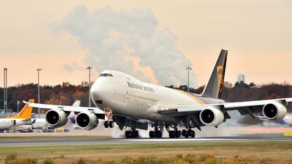 N611UP - UPS - United Parcel Service Boeing 747-8F