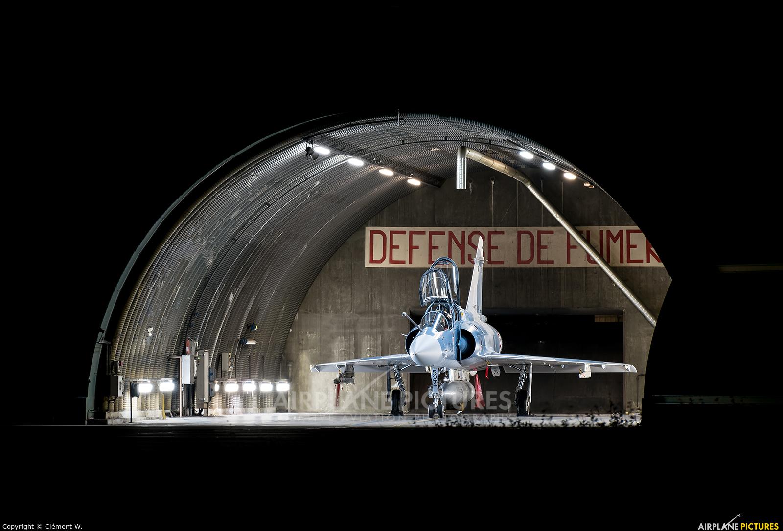 France - Air Force 115-YE aircraft at Orange - Caritat