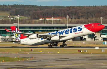 HBJMF - Edelweiss Airbus A340-300