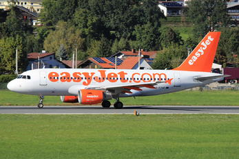G-EZAF - easyJet Airbus A319