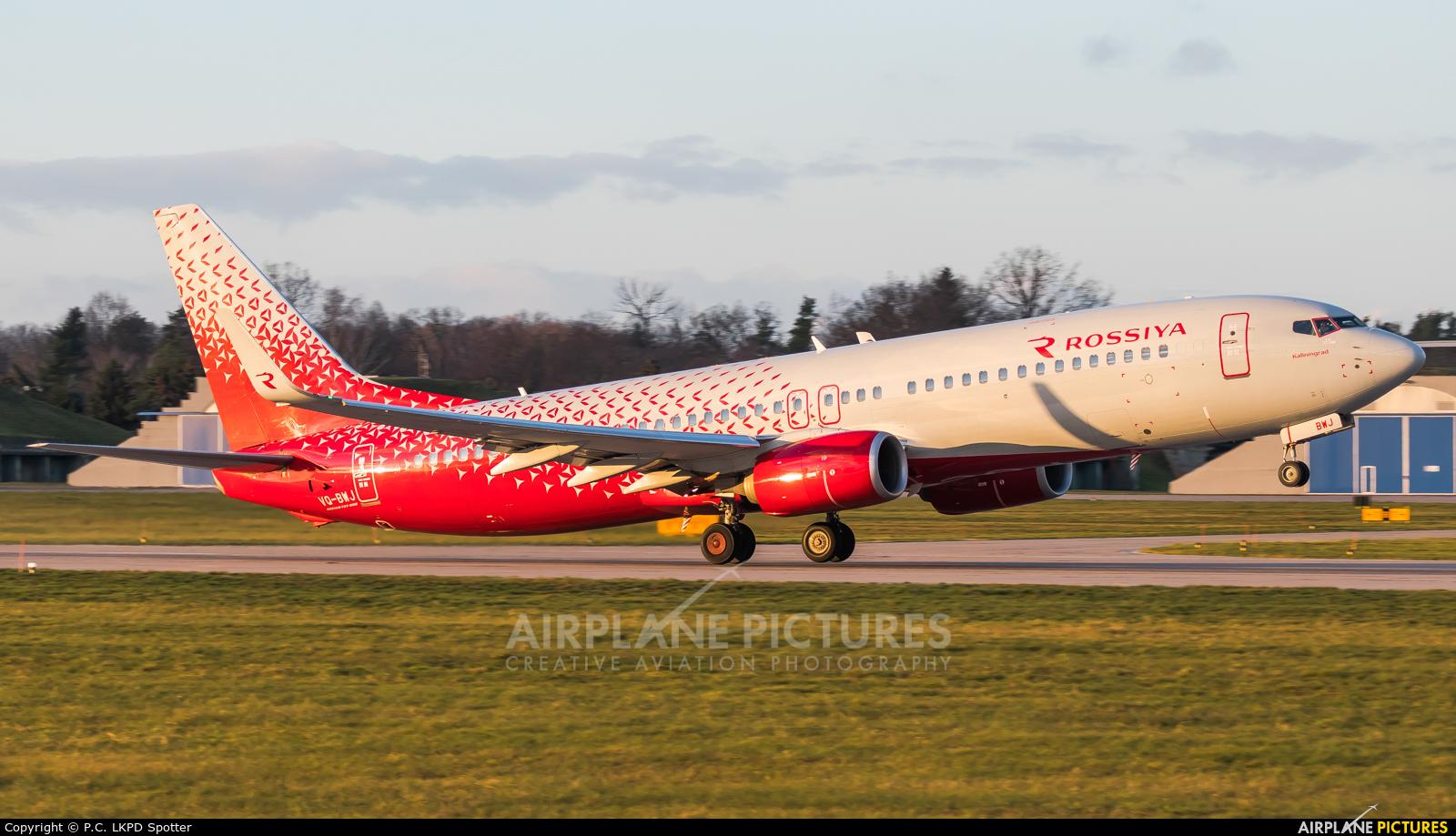 Rossiya VQ-BWJ aircraft at Pardubice