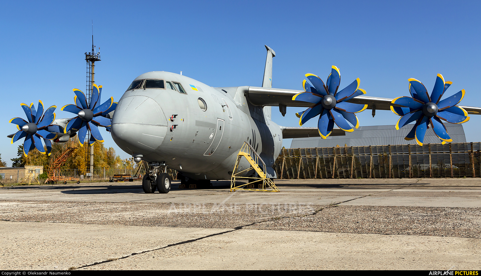 Ukraine - Air Force 02 aircraft at Kyiv - Gostomel