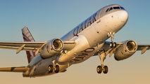 A7-AHT - Qatar Airways Airbus A320 aircraft