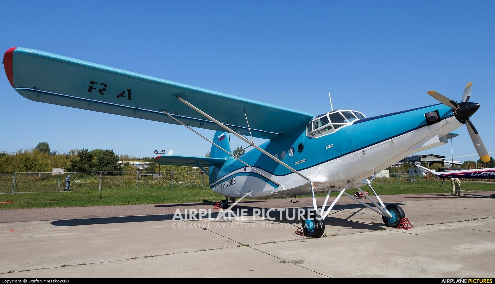 Private RA-17908 aircraft at Zhukovsky International Airport