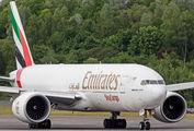 A6-EFM - Emirates Sky Cargo Boeing 777F aircraft