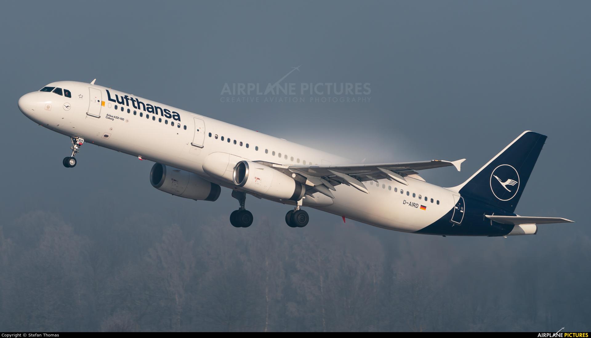 Lufthansa D-AIRD aircraft at Munich