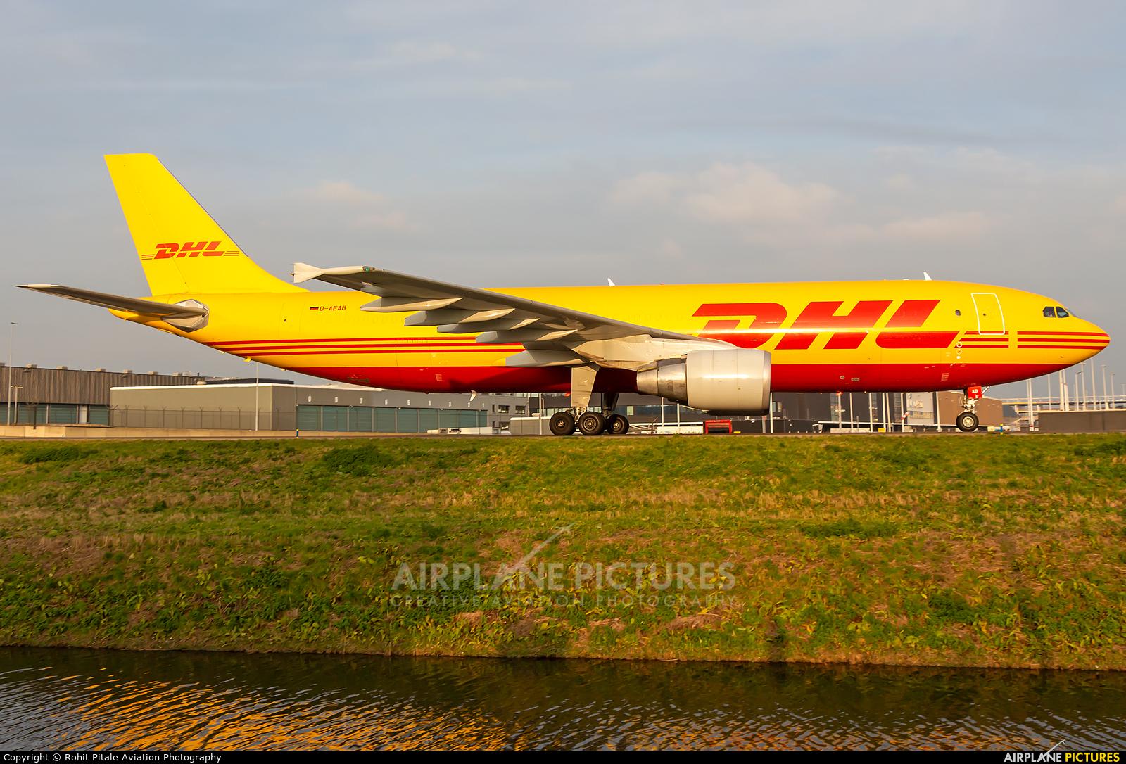 DHL Cargo D-AEAB aircraft at Amsterdam - Schiphol