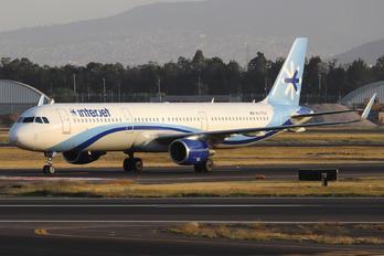 XA-TEA - Interjet Airbus A321
