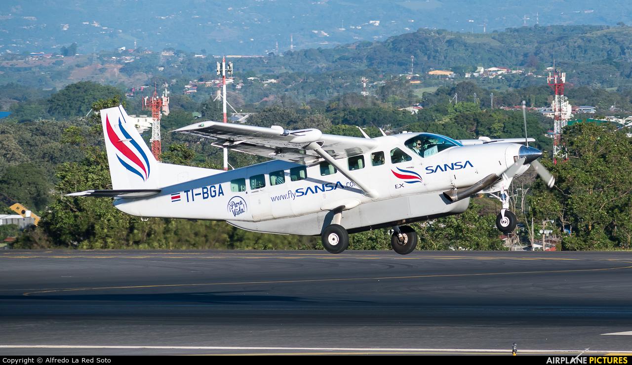 Sansa Airlines TI-BGA aircraft at San Jose - Juan Santamaría Intl
