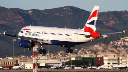 G-EUUE - British Airways Airbus A320