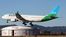 EC-NEN - LEVEL Airbus A330-200 aircraft