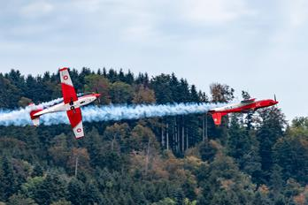 A-931 - Switzerland - Air Force: PC-7 Team Pilatus PC-7 I & II