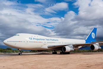 N747GE - General Electric Aircraft Engines Boeing 747-100