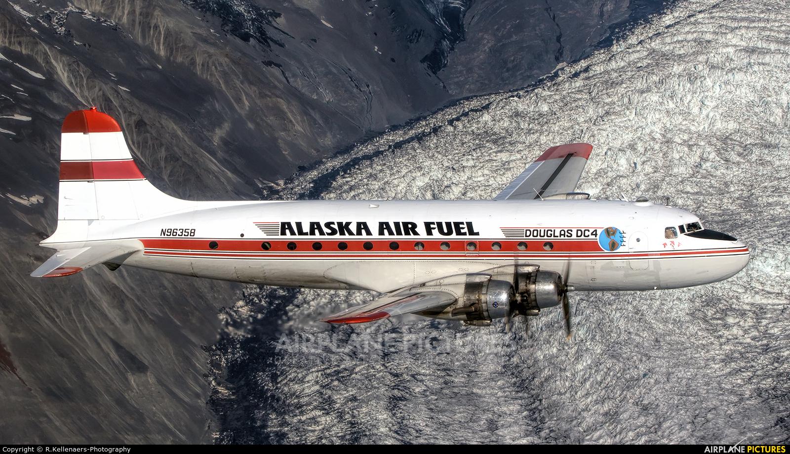 Alaska Air Fuel N96358 aircraft at In Flight - Alaska