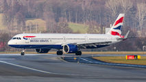 G-NEOU - British Airways Airbus A321 NEO aircraft