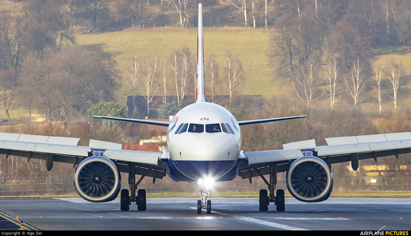 British Airways G-NEOU aircraft at Kraków - John Paul II Intl