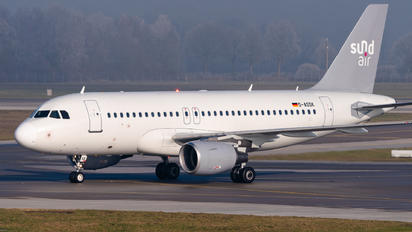 D-ASSK - Sundair Airbus A319
