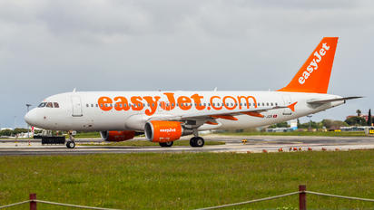 HB-JZX - easyJet Switzerland Airbus A320