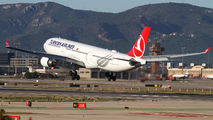 TC-LNF - Turkish Airlines Airbus A330-300 aircraft