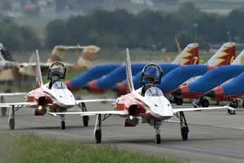 J-30** - Switzerland - Air Force: Patrouille Suisse Northrop F-5E Tiger II