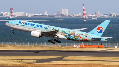 HL7766 - Korean Air Boeing 777-200ER