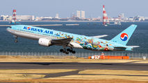 HL7766 - Korean Air Boeing 777-200ER aircraft