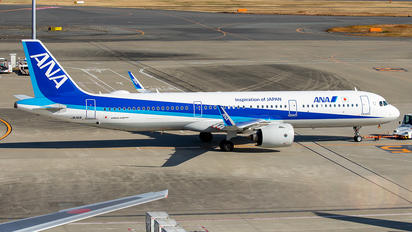 JA141A - ANA - All Nippon Airways Airbus A321