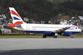 G-GATR - British Airways Airbus A320