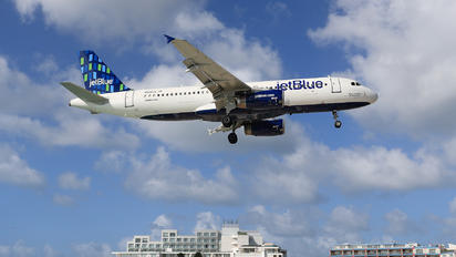 N526JL - JetBlue Airways Airbus A320