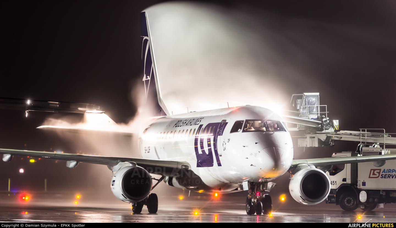 LOT - Polish Airlines SP-LDF aircraft at Warsaw - Frederic Chopin