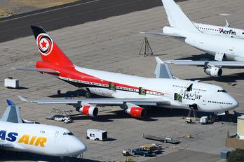5N-DBK - Max Air Boeing 747-400