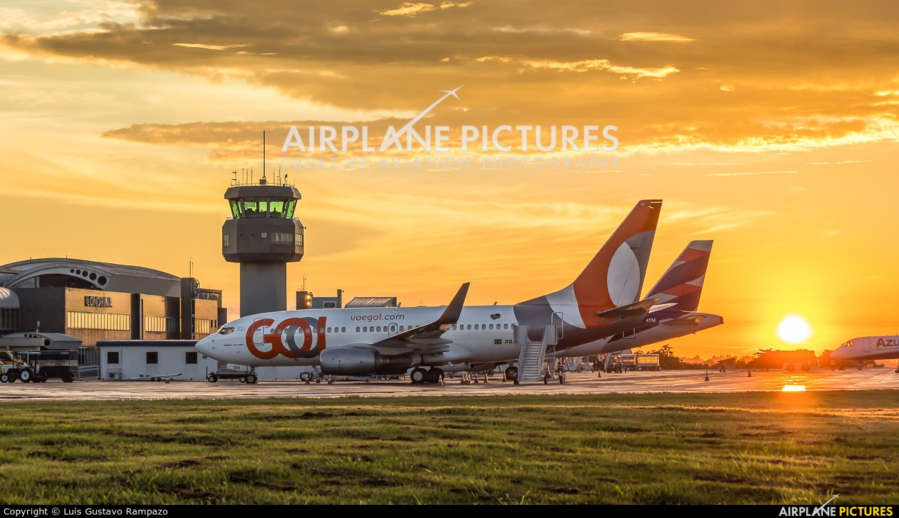 - Airport Overview PR-GIH aircraft at Londrina – Gov. José Richa