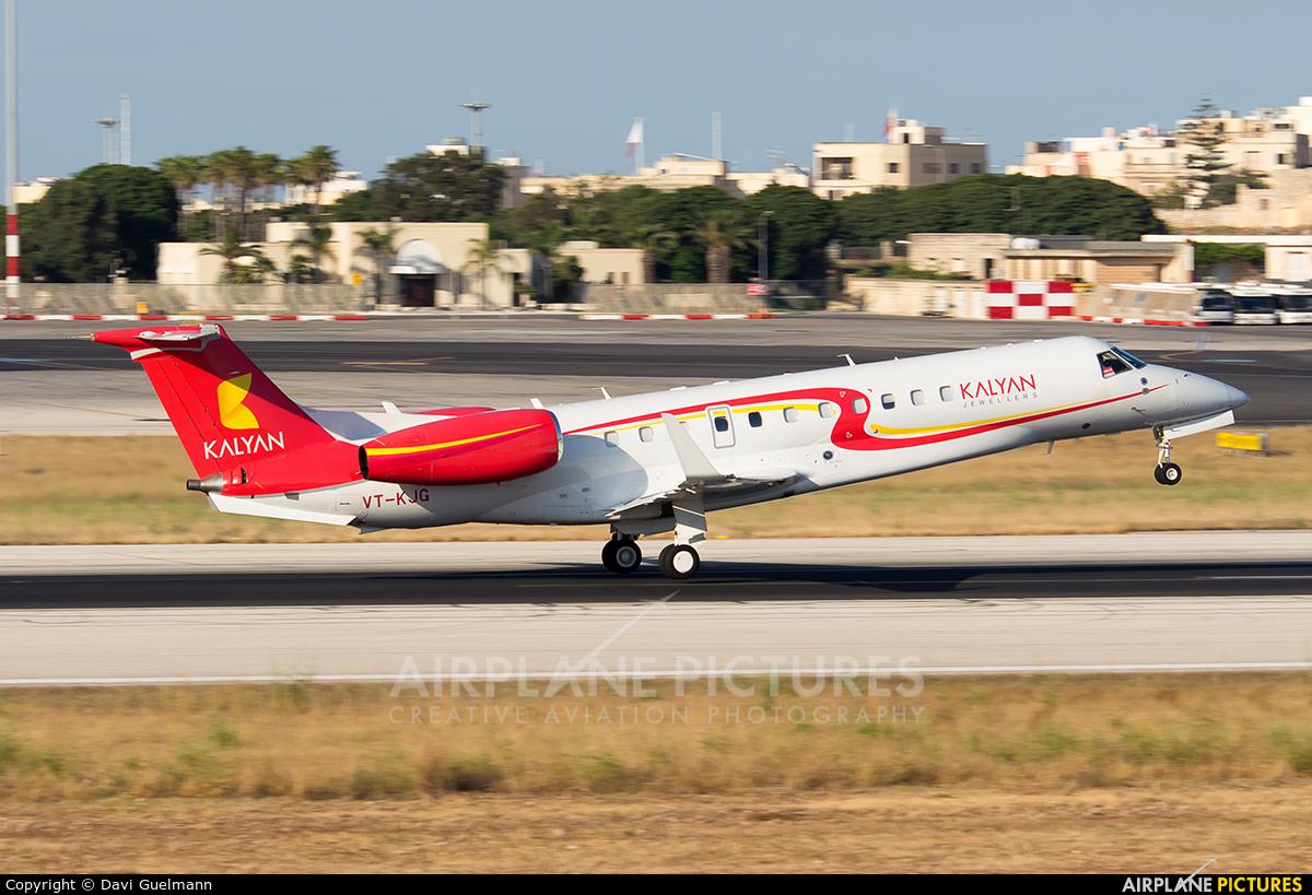 Private VT-KJG aircraft at Malta Intl