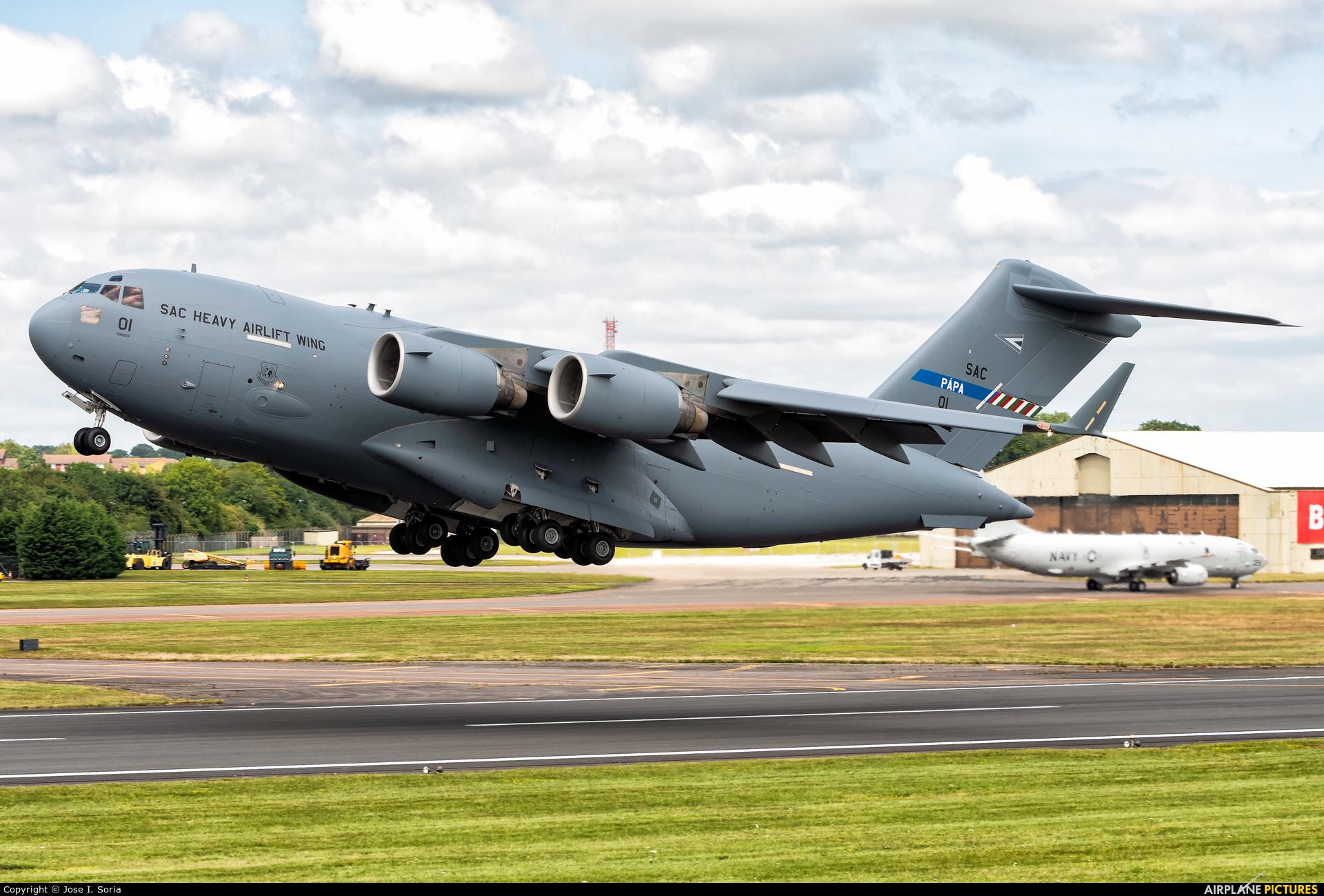 Hungary - Air Force 01 aircraft at Fairford