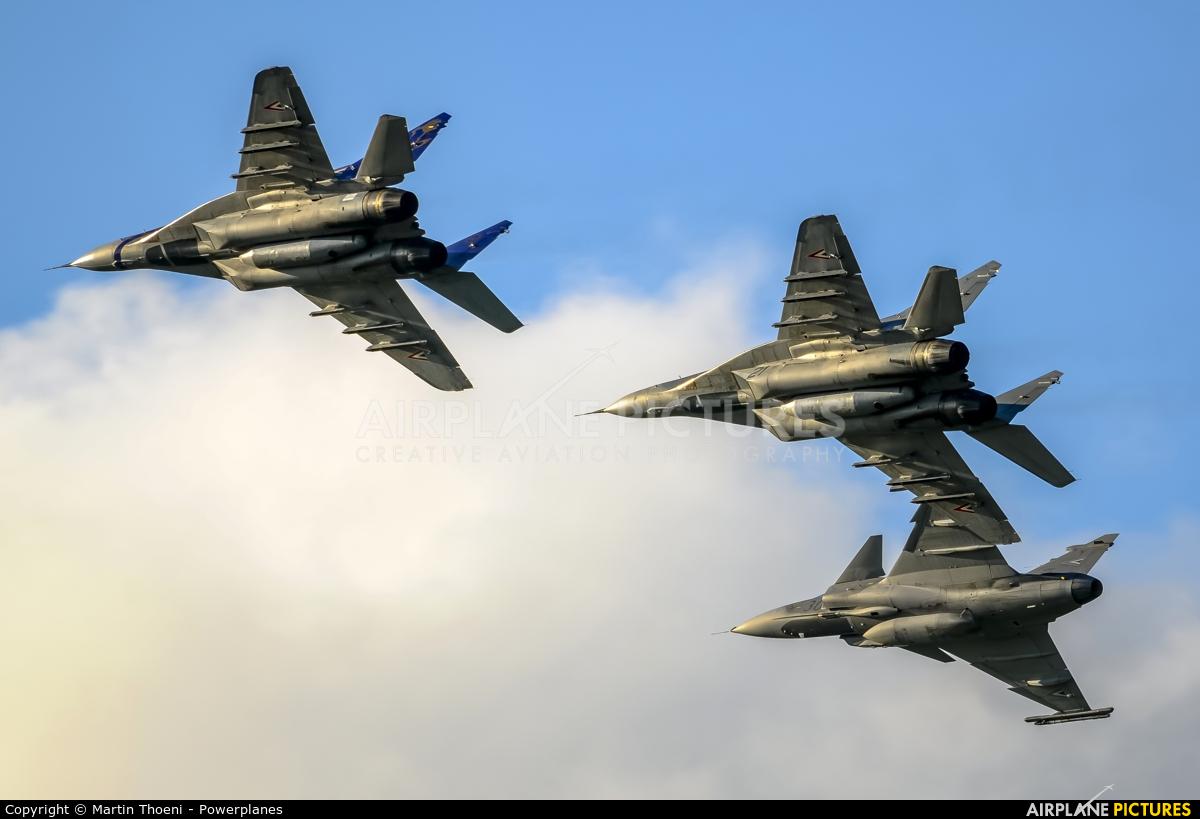 Hungary - Air Force 21 aircraft at Kecskemét