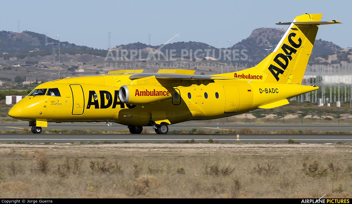 ADAC Luftrettung D-BADC aircraft at Murcia Corvera International Airport