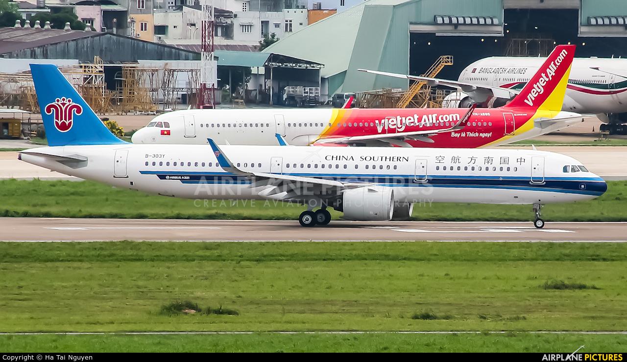 China Southern Airlines B-303Y aircraft at Ho Chi Minh City - Tan Son Nhat Intl